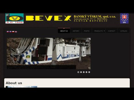 www.bevex.sk