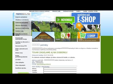 www.agrosklad.sk