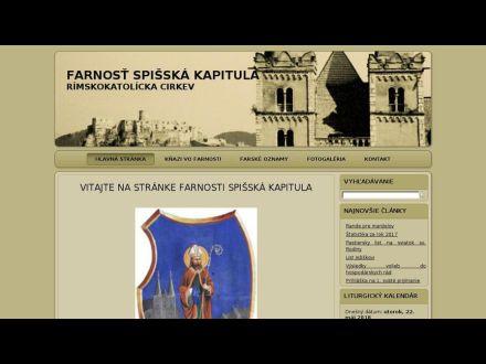 www.farnost.kapitula.sk