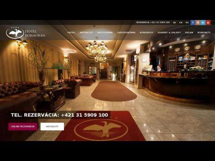 www.hotelkormoran.sk