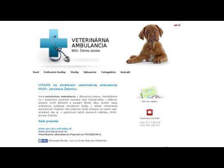 www.veterinarpoprad.sk