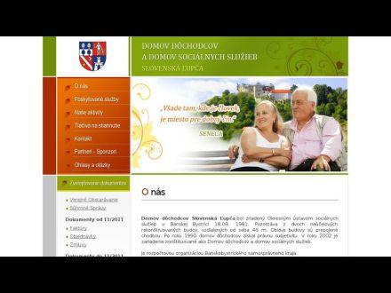 www.seniordom.sk
