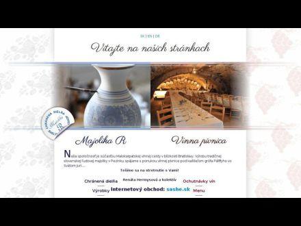 www.majolika-r.sk