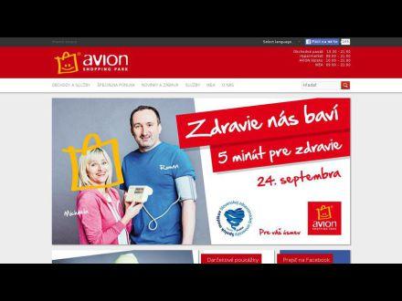 www.avion.sk