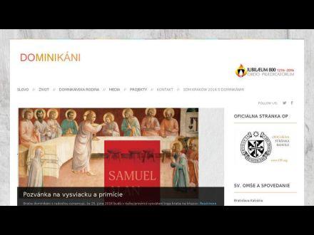 www.dominikani.sk