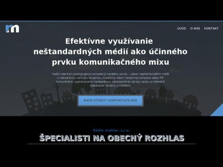 www.radiomakler.sk