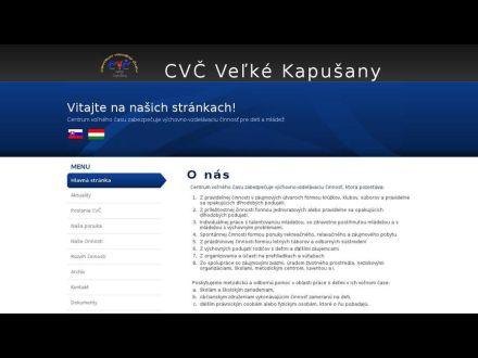 www.cvcvkapusany.edu.sk