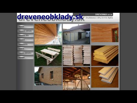 www.dreveneobklady.sk