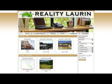 www.realitylaurin.sk/