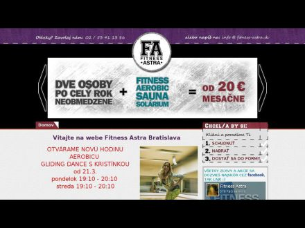 www.fitness-astra.sk