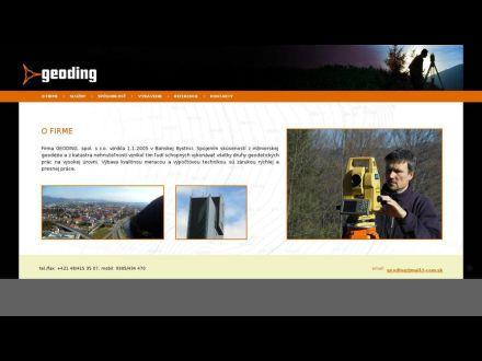 www.geoding.sk