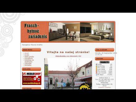 www.frasch-nabytok.sk