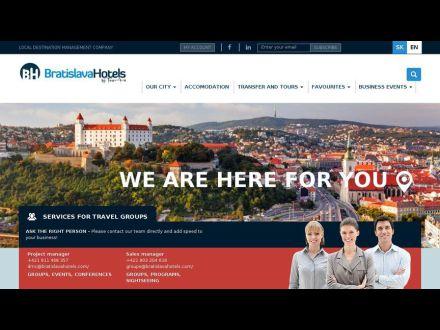 www.bratislavahotels.sk