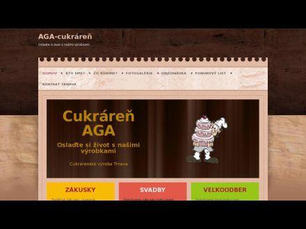 www.aga-cukraren.sk