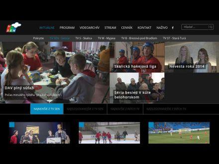www.tvsen.sk