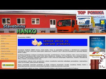www.stavebniny-vlaha.sk