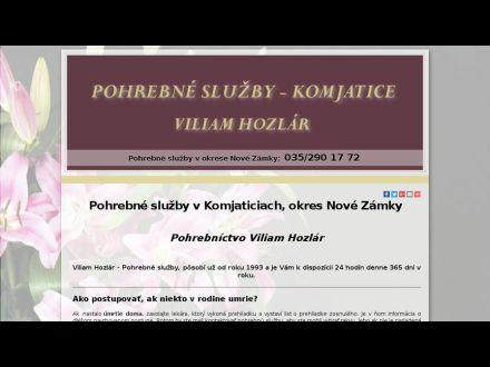 www.pohrebnesluzby-hozlar.sk