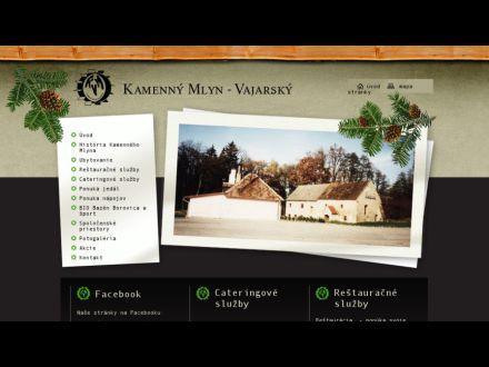 www.kamennymlyn.sk