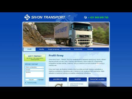 www.sivontransport.sk