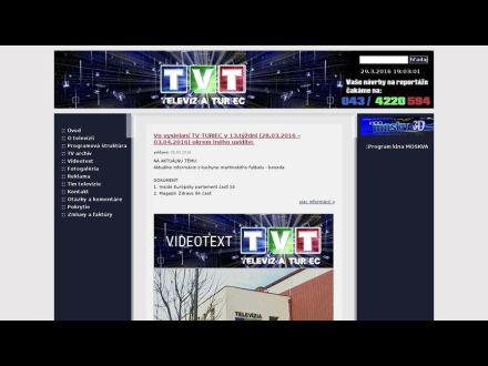 www.tvturiec.sk