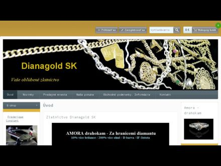 www.dianagold.sk