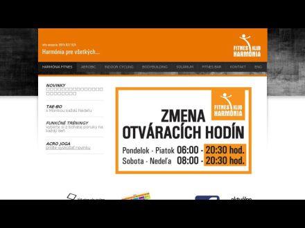 www.fitnesklubharmonia.sk