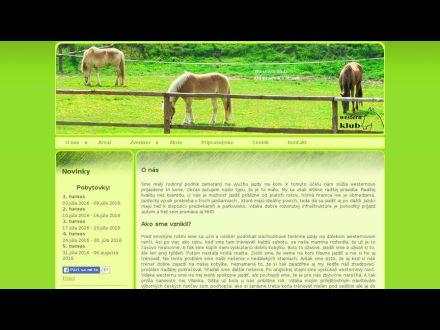 www.westernklub.sk