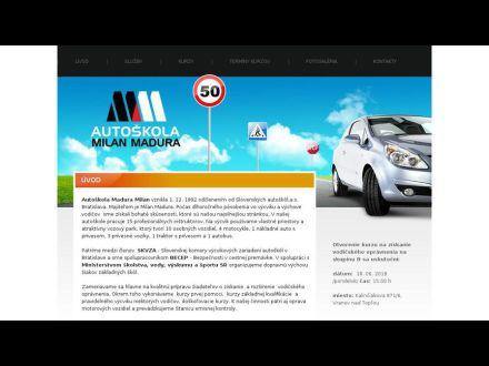 www.autoskolamadura.sk