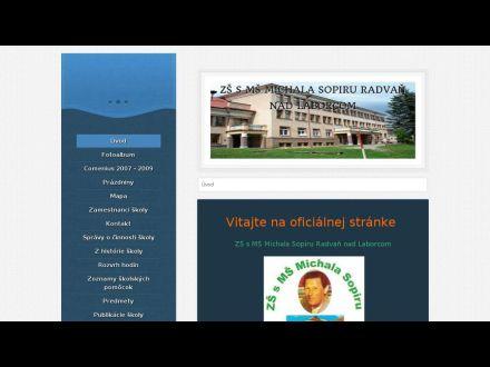 www.zsradvan.estranky.sk