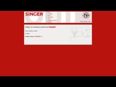 www.singer.sk
