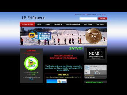 www.lyziarske-stredisko-frickovce.webnode.sk