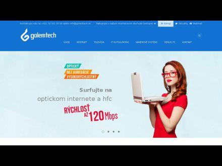 www.golemtech.sk