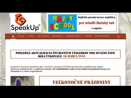 www.speakup.sk