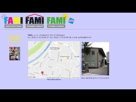 www.fami.sk