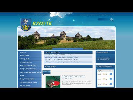 www.obecbzovik.sk