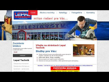 www.lepal-technik.sk