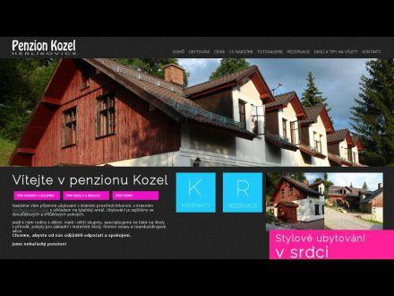 www.penzionkozel.cz
