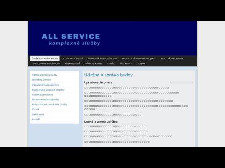www.allservice.sk