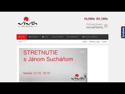 www.radioviva.sk