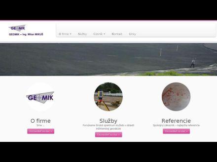www.geomik.sk