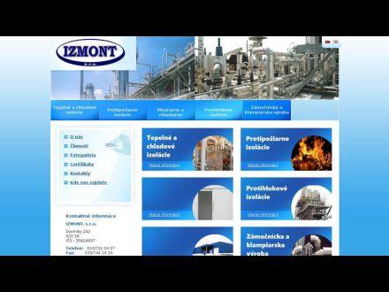 www.izmont.sk
