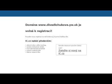 www.divadlohubova.yw.sk