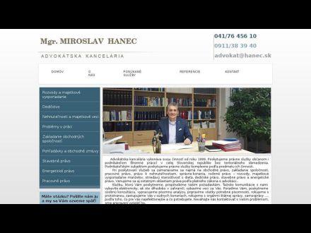 www.hanec.sk