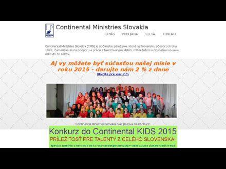 www.continentals.sk