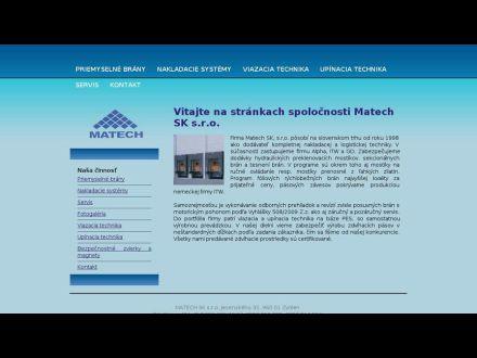 www.matech.sk