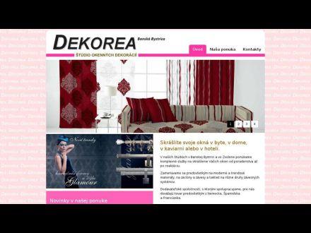 www.dekorea.sk