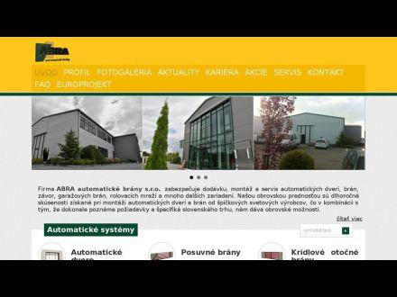 www.automatickebrany.eu