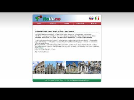 www.italiano.sk