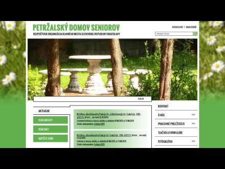 www.petrzalskydomseniorov.eu