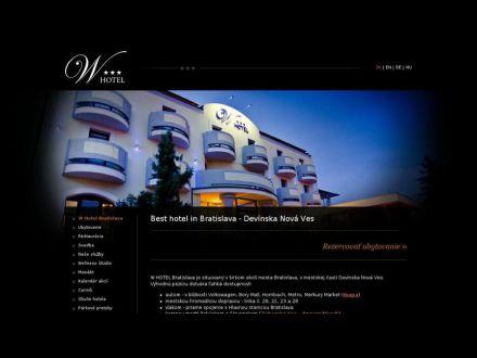 www.whotel.sk